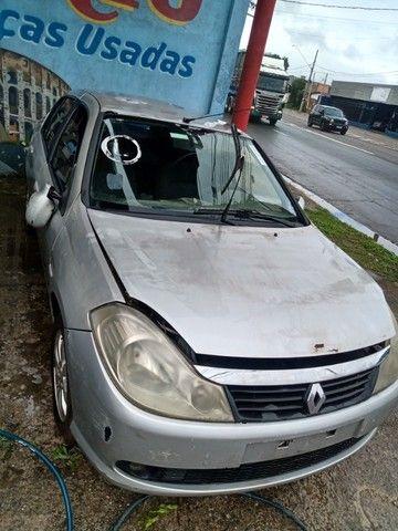 Renault Symbol Exp 1.6 2010 2011 Para Retirada de Peças - Foto 2