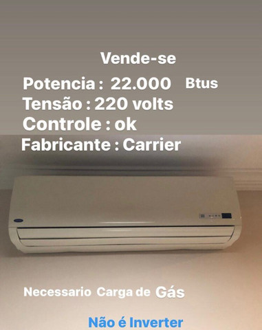 Ar condicionado 20.000 btus