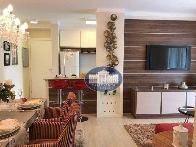 Apartamento com 2 dormitórios à venda, 84 m², lazer completo - Parque das Paineiras - Biri - Foto 2