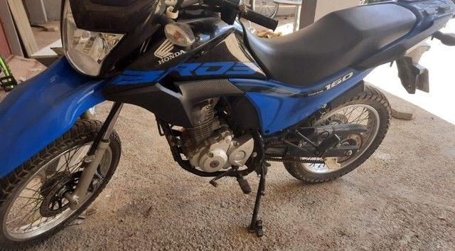 Vendo Honda Bros ESDD 160- Topo de Linha - Foto 4