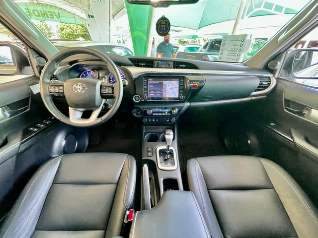 Toyota Hilux SRV 2020 4X4 Diesel - Foto 12