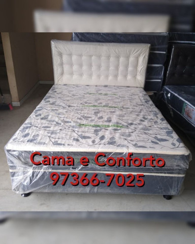 MEGA FEIRÃO!!! CAMA BOX CASAL $369,90!! ENTREGA GRÁTIS!!! - Foto 2