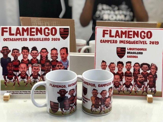 Kit caricatura Flamengo - Foto 3