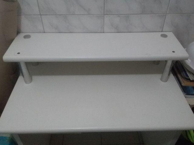 Escrivaninha Branca  - Foto 2