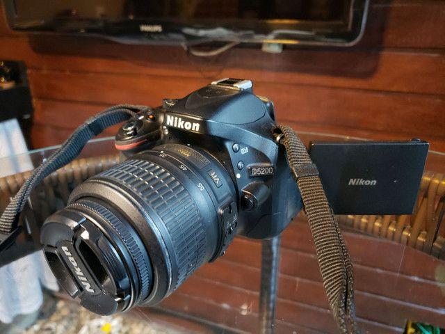 Câmera Nikon D5200  - Foto 2