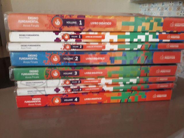 kit de livros Positivo 6 ano