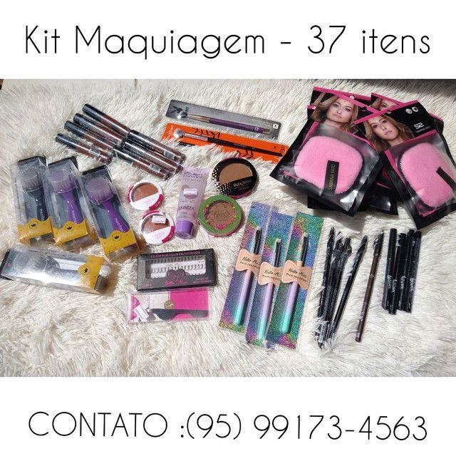 Kit Maquiagens - 37 itens disponíveis -