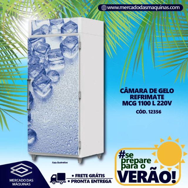 Câmara de gelo Refrimate 1100 L Nova Frete Grátis