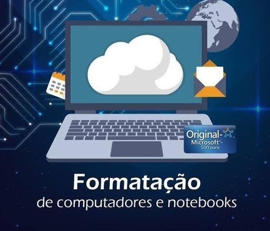 Formatação de Notebook e Computador João Pessoa