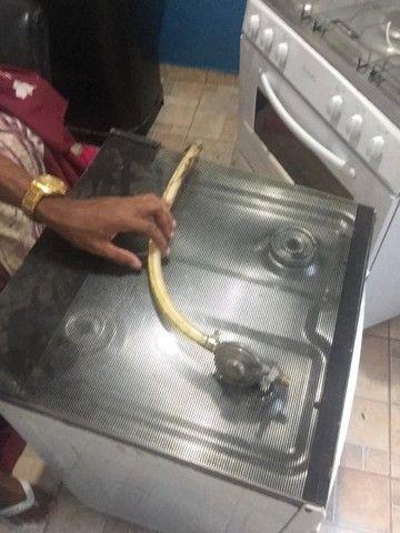Vendo fogão 4 bocas funcionando tudo  - Foto 5