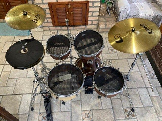 Bateria Coffee Kit - Kr Custom Drums