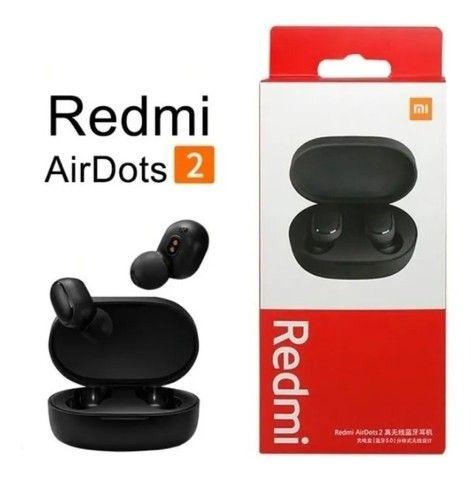 Xiaomi AirDots 2+ Capa de Silicone (Bluetooth 5.0) - Entrega Grátis
