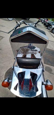 IMPERDÍVEL VT shadow 750 2006 muito conservada, tem manual e chave reserva - Foto 5