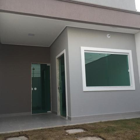 Atenção Casa de 2 - quartos, suíte, 100%laje Padrão Moderno, acabamento impecável