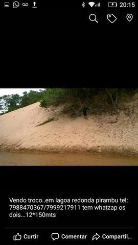 Terreno em lagoa redonda em Pirambu