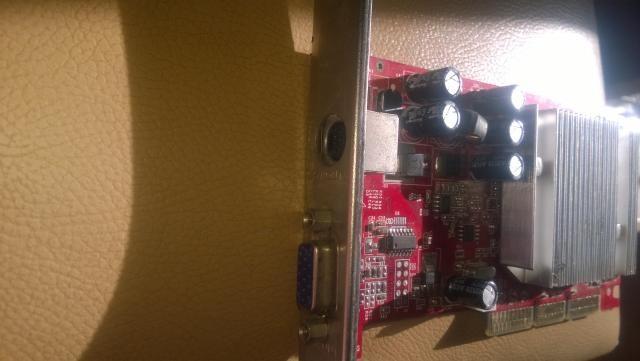 Peças computador placa de vídeo agp 128