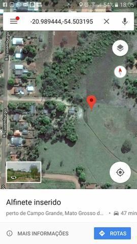Vendo dois terreno de 15×45 em Anhanduí município de Campo Grande ms