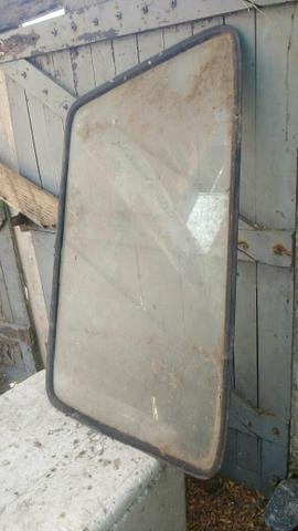 Vidro traseiro porta malas gol quadrado