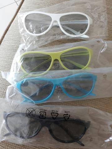 Kit 4 oculos 3D tv LG