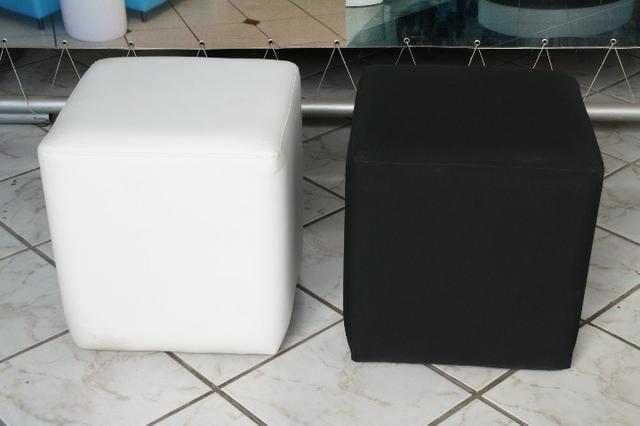 Pufe redondo individual 0,45 diametro usado - Foto 2
