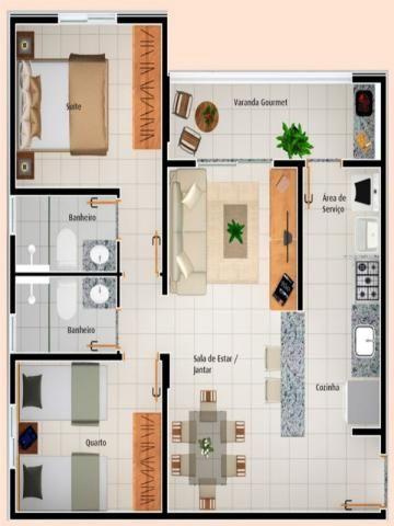 Apartamento à venda com 2 dormitórios em Vila rosa, Goiânia cod:AL1122 - Foto 18