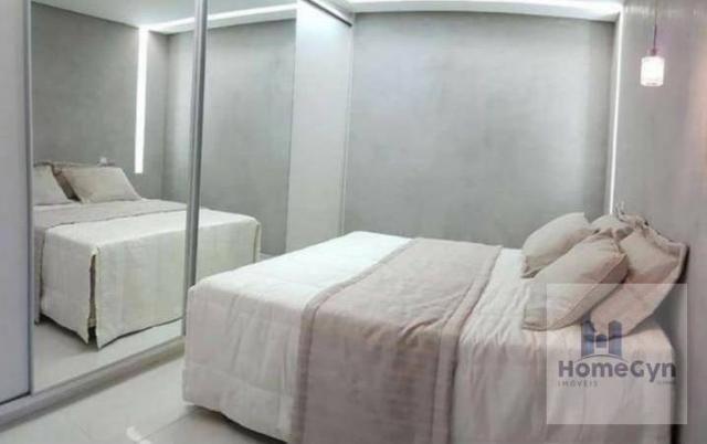 Apartamento 2 quartos no porcelanato parque amazônia/vila rosa goiânia - go - Foto 3