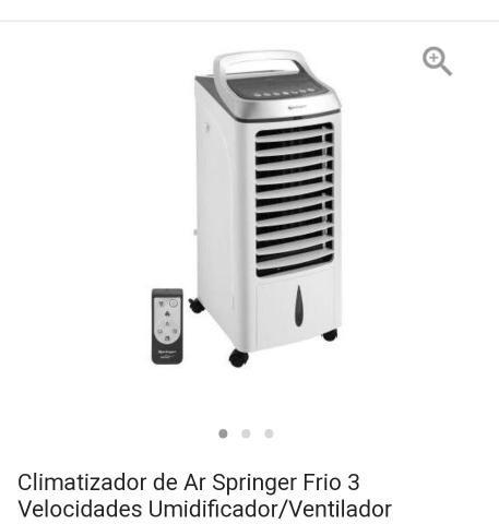Climatizador Umidificador com controle remoto Springer