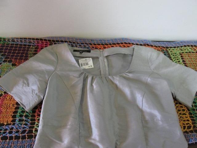 Vestido em tafeta Luigi Bertolli Tam 38