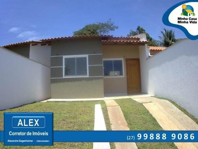 ALX - C.A.S.A - Casa Térrea com Suíte, 2 quartos, Quintal e Churrasqueira