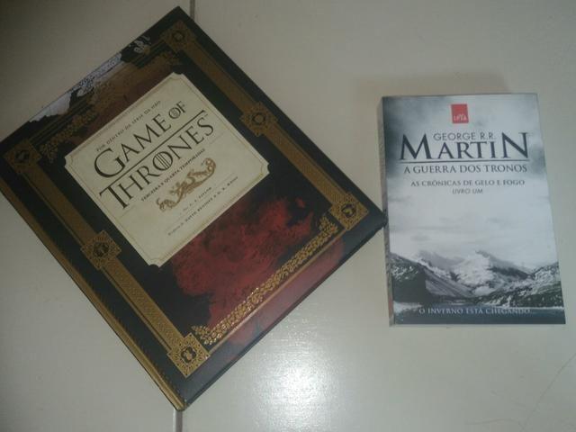 Guia HBO Game OF Thrones + livro Guerra dos Tronos
