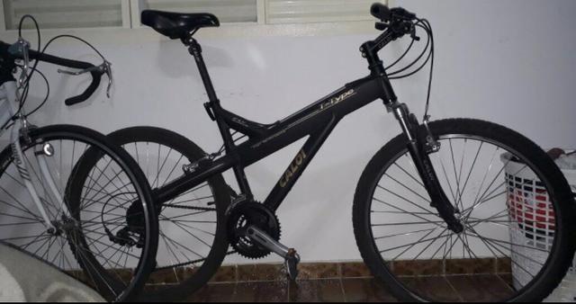 Bicicleta Caloi alumínio 21 marchas