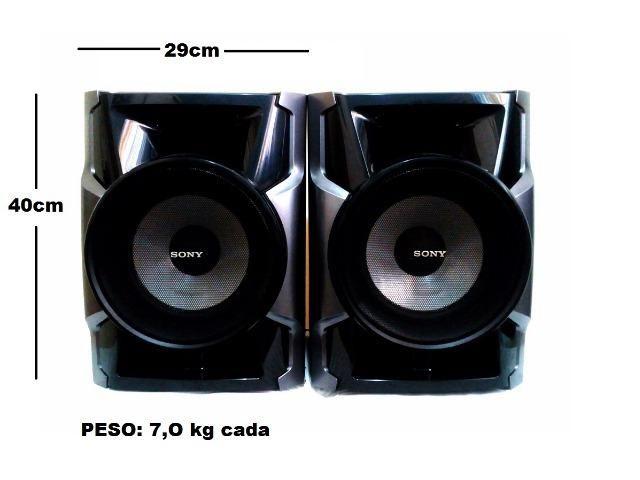 Par de caixas de som Sony 760w rms perfeitas originais