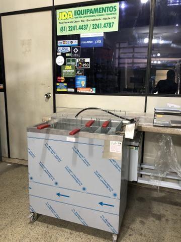 Fritadores /frituras - industriais água e óleo / elétrico ou gás / - a partir r$ 2290,00