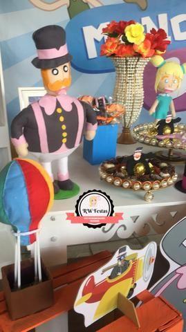 Kit bandejas e jarros para festa - Pedraria (Quase Tudo p festa)