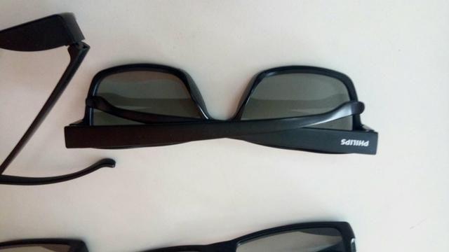 4 óculos 3d philips