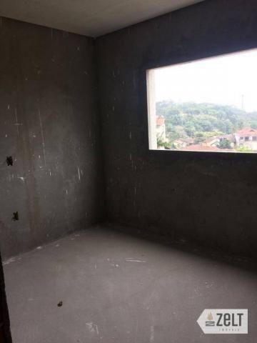 Apartamento com 3 dormitórios à venda, 91 m² por r$ 300.000 - sol - indaial/sc - Foto 11