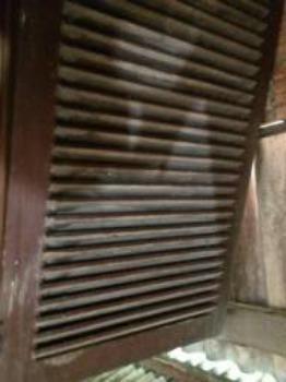 Portas de Madeiras Antigas, Grades Metálicas Antigas, Sofá de Balanço Metálico - Foto 3