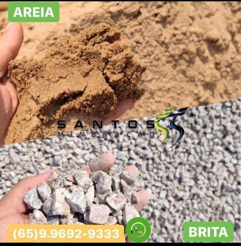 Areia e brita cpa e região