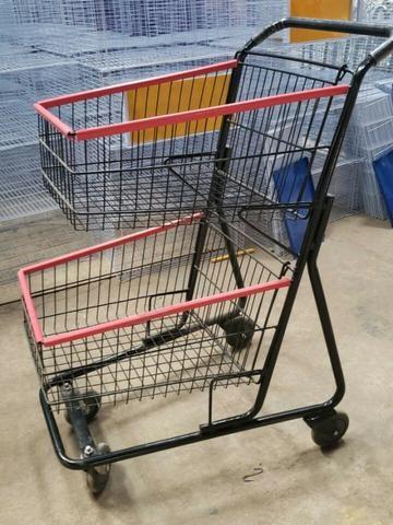 Carrinhos para Supermercados - Foto 2