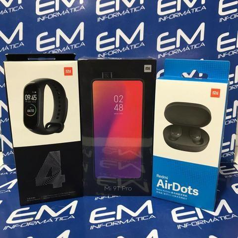 Xiaomi Kit Mi 9T 64Gb + Airdots + Mi band 4 Global - Lacrado! com garantia e nota