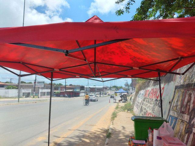 Vendo churrasquira pra galeto,tenda 3×3.tudo novo com 2 meses de uso. - Foto 5