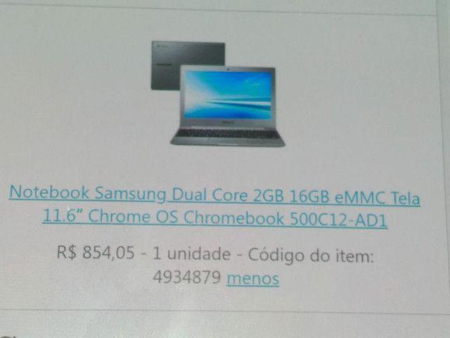 Notebook Samsung  - Foto 5