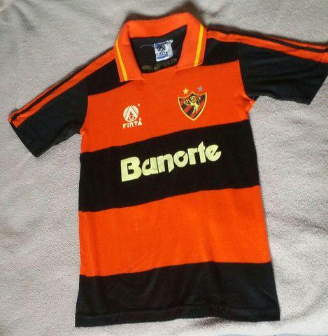 Camisa Sport Recife 1991 infantil