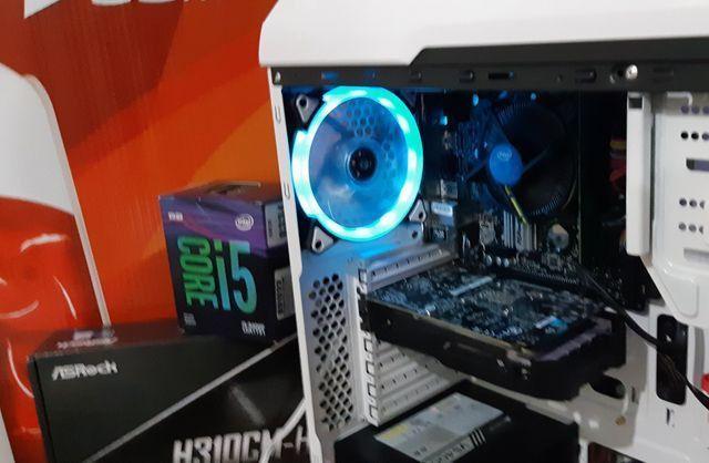 PC game 9°geração, i5 9400f, HD ssd240g, Gtx1050, 8g dd4, até 10x sj - Foto 3