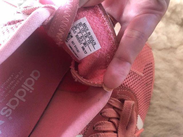 Tênis Adidas Rose pouco uso - Foto 3