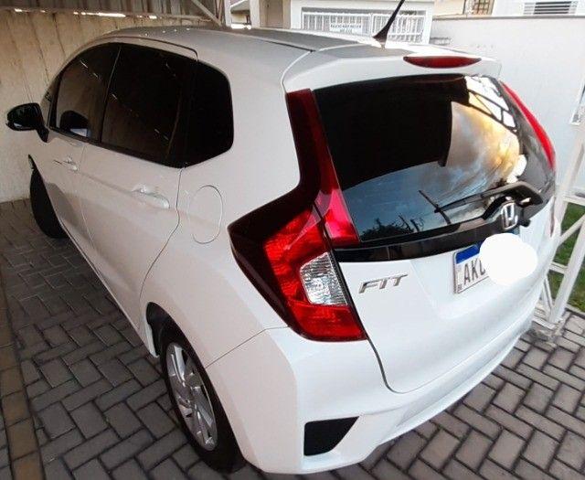 Honda Fit Cvt Branco 2015. Excelente.  - Foto 14