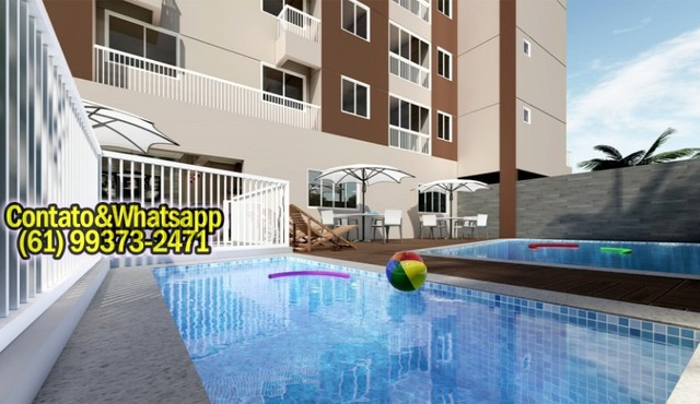 Apartamento em Goiânia, 2Q (1Suíte), 55m2, Garagem, Lazer Completo! Parcela. - Foto 6