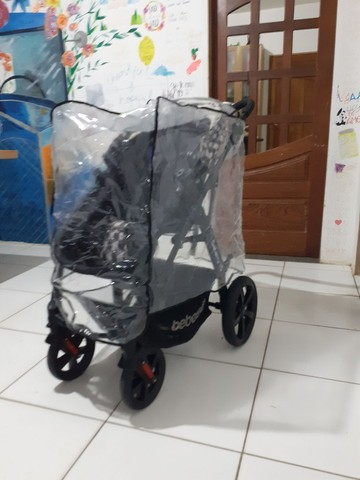 Carrinho de bebê Galaxy TS SEMI NOVO UNISSEX  - Foto 6
