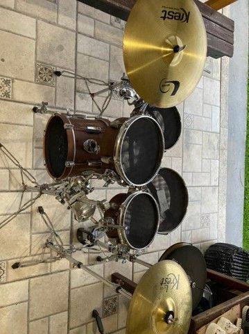 Bateria Coffee Kit - Kr Custom Drums - Foto 5
