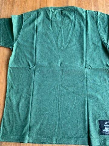 Camisa Verde Basica - Foto 2
